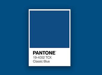 Le Classic Blue : La couleur de l'année 2020